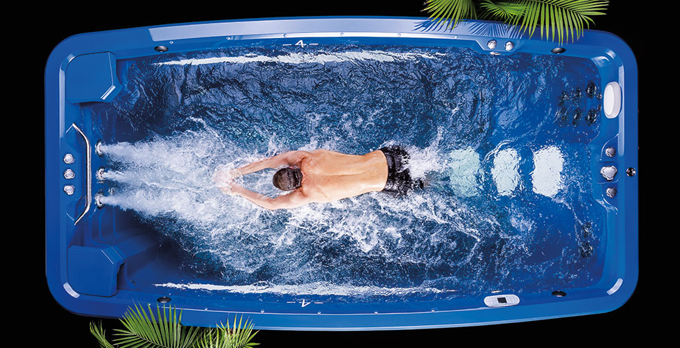 Swim Spas - Debnar\'s Pools, Spas, Lawn & Garden